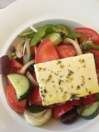 Greek salad, no lettuce!